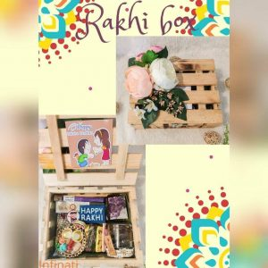 Looking for a Surprise With Your Rakhi? Tired of Ordinary Rakshabandhan Gifts? Then This Rakshabandhan surprise your siblings with this surprise box because something unexpected is always sweeter! Promote Proper grooming and personal care with this gift basket. This is a gift hamper that is Composed Of A Soap, Bath Salt, Rakhi bracelet, Roli-Chawal, Chocolates, Chocolate Granola and Brownies to celebrate your love and bond. Promising Peace And Prosperity